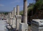 Columns in Ephesus, Asia Minor (modern Turkey)