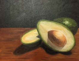 """Avocados (oil on canvas; 11x14"""") SOLD"""